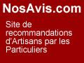 NosAvis.com, site de recherche d'artisans avec recommandation de Clients