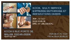 avis Koch multi-services et negoce vo