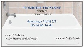 P¨lomberie Troyenne Troyes