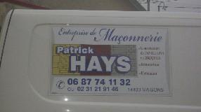 Patrick- Hays Maisons