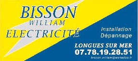 Bisson William Electricité Longues sur Mer