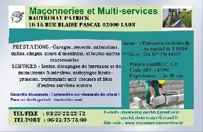 Maçonneries et Multi-services Laon