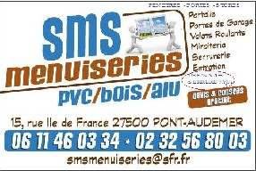 SMS MENUISERIES Pont Audemer