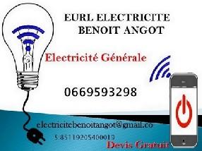logo EURL ELECTRICITE BENOIT ANGOT