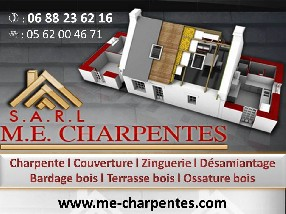 SARL M.E. CHARPENTES Miramont de Comminges