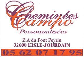 CHEMINEES CAMPO L'Isle Jourdain