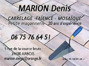 MARION Denis Arbois