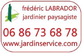logo jardin service - frédéric LABRADOR - jardinier paysagiste