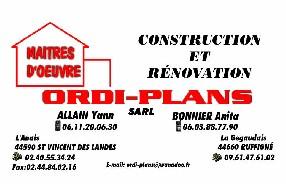 SARL ORDI-PLANS Saint Vincent des Landes