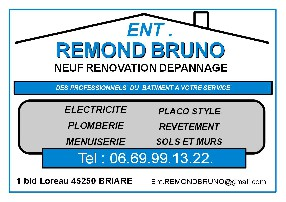 ent REMOND BRUNO Briare