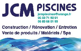 JCM Piscines Monflanquin