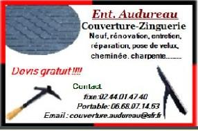 Ent. Audureau Couverture-Zinguerie Champigné