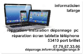 informaticien Port Brillet
