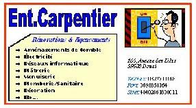 Entreprise Carpentier Douai