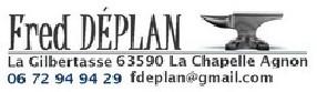 Fred Déplan La Chapelle Agnon