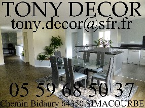 TONY DECOR Simacourbe