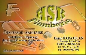 HSK PLOMBERIE Vénissieux