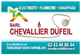 SARL CHEVALLIER DUFEIL Dissay sous Courcillon