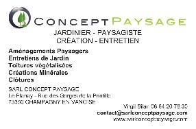 SARL CONCEPT PAYSAGE Champagny en Vanoise