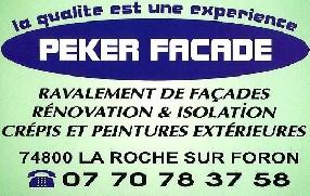 PEKER FACADE La Roche sur Foron