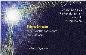 Derycke Thierry Electricité Générale Passy