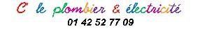 logo C LE PLOMBIER