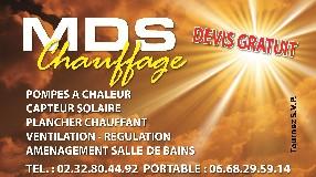 MDS CHAUFFAGE Auzouville sur Ry