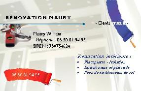 Rénovation MAURY Rouen