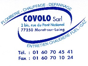 COVOLO Sarl Moret sur Loing