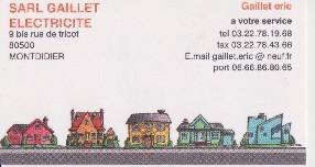 logo Gaillet Electricité (SARL)