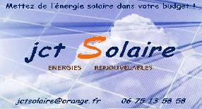 JCT SOLAIRE Camps la Source