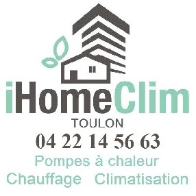 logo IHOME CLIM CLIMATISATION TOULON