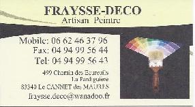 FRAYSSE-DECO Le Cannet des Maures