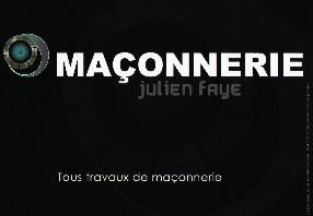 Maçonnerie Julien Faye Francheval