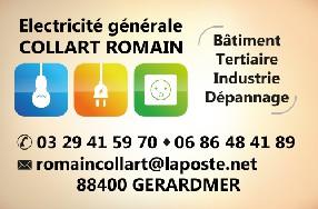 Collart Romain Electricité Générale Gérardmer