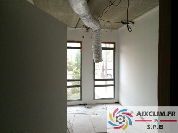 Installation Climatisation Gainable Aix en Provence