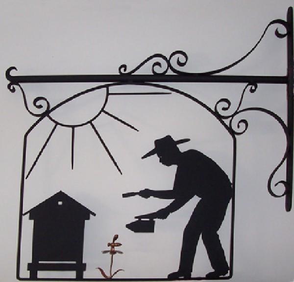 Enseigne d'apiculteur
