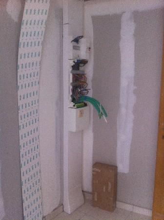 pose d'une GTL et câblage d'un tableau électrique dans un appartement de 70m2