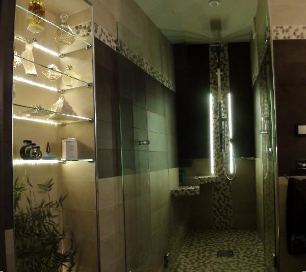 Rénovation d'une salle de bain, Robinetterie GESSI Faïence Porcelanosa