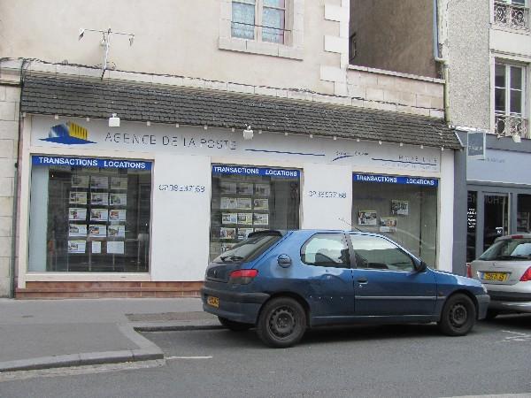 Devanture magasin en peinture