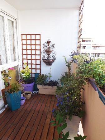 balcon trapézoïdale après travaux