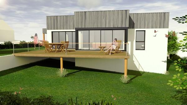 Maison BBC RT2012 en cours de construction à CHANGÉ (53810)<br /> Consulter notre site : https://www.gommerel-habitat-passif.com