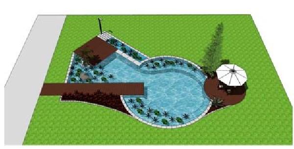 avant projet bassin de baignade biologique