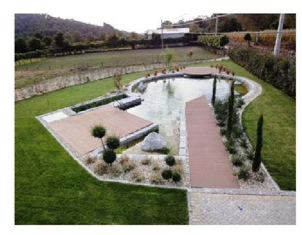 projet bassin de baignade biologique terminé