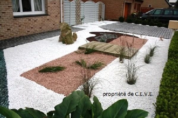 création jardin minéral