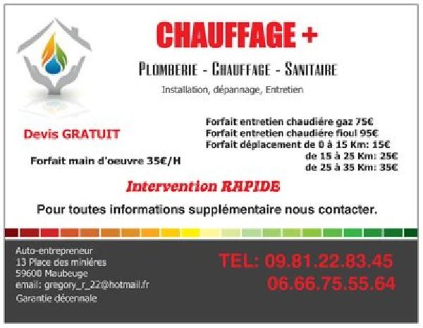Chauffage+ Maubeuge