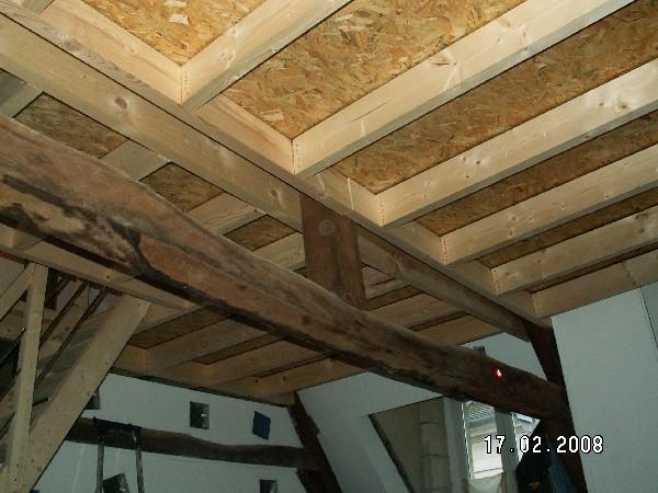 création d'un niveau supplémentaire dans une demeure ancienne
