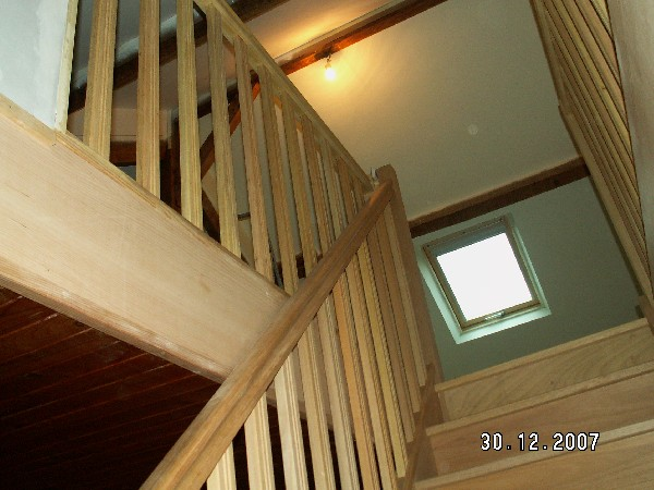accès vers un espace gagné dans la maison