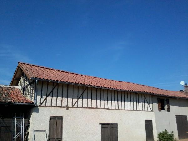 rénovation bâtiment de France, Couverture en tuile Canal S