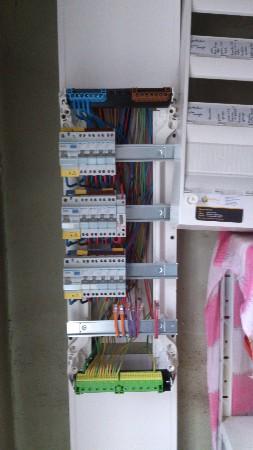 Rénovation d'une installation électrique compléte d'une maison